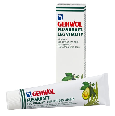GEHWOL FUSSKRAFT LEG VITALITY 125ml - Imported from Germany