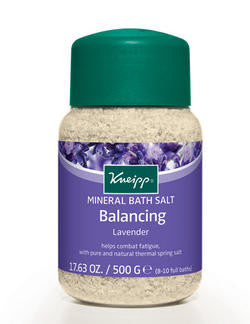 Kneipp Bath Crystals Balancing Lavender 500g - Imported From Germany