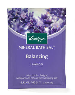 Kneipp Mineral Bath Salth Lavander 60g - Imported From Germany