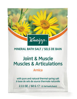 Kneipp Bath Crystals Joint & Muscle 60g - Imported From Germany