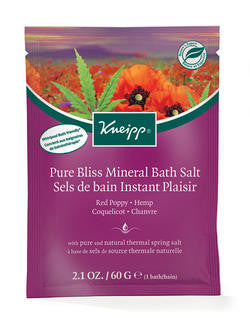 Kneipp Pure Bliss Mineral Bath Salt 60g - Imported From Germany