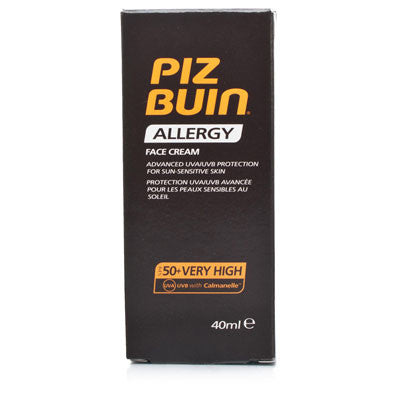 Piz Buin Allergy Face Cream SPF 50+ Very High 40ml