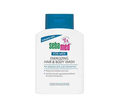 SEBAMED ENERGIZING HAIR & BODY WASH FOR MEN 200ml