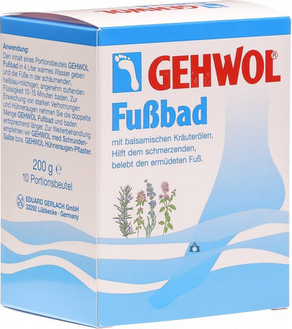 Gehwol Fussbad 200g - Imported From Germany