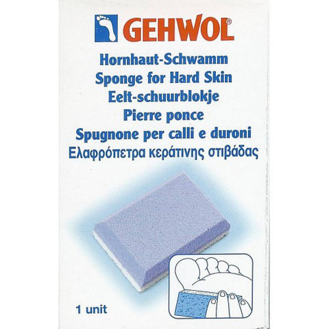 Gehwol Sponge for Hard Skin - Imported From Germany