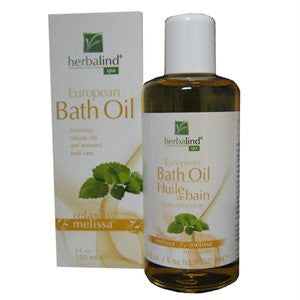 Herbalind European Bath Oil Melissa 150ml - Imported From Germany