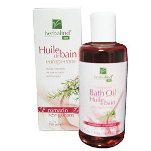 Herbalind European Bath Oil Rosemary 150ml - Imported From Germany