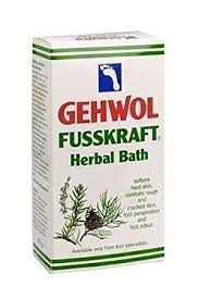 Gehwol Fusskraft Herbal Bath 400g - Imported From Germany