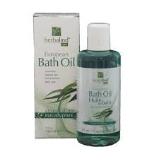 Herbalind European Bath Oil Eucalyptus 150ml - Imported From Germany