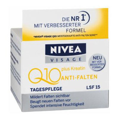 Nivea Visage Q10 Plus Anti-Wrinkle SPF 15 Day Creme  50ml - Made in Germany