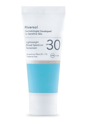 Riversol SPF 30 Lightweight Broad Spectrum Sunscreen 60ml