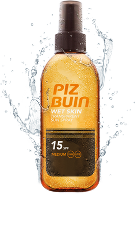 Piz Buin Wet Skin Transparent Sun Spray SPF 15