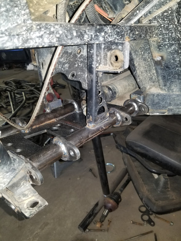 Polaris ranger lower frame cradle