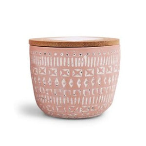 Terracotta Candle in Pepper and Pomelo