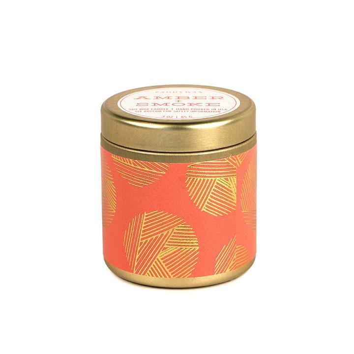 Amber & Smoke Mini Paddywax Candle
