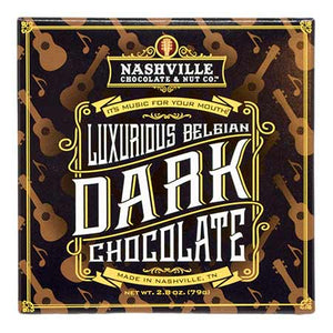 Luxurious Belgian Dark Chocolate Bar