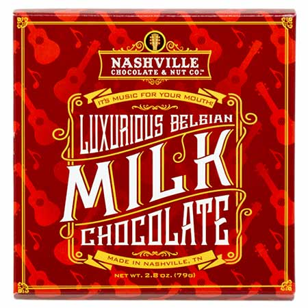 Luxurious Belgian Milk Chocolate Bar