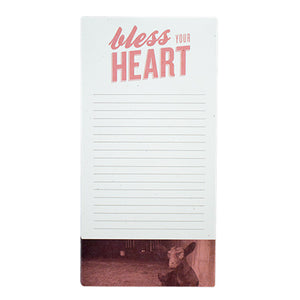 Bless Your Heart Notepad