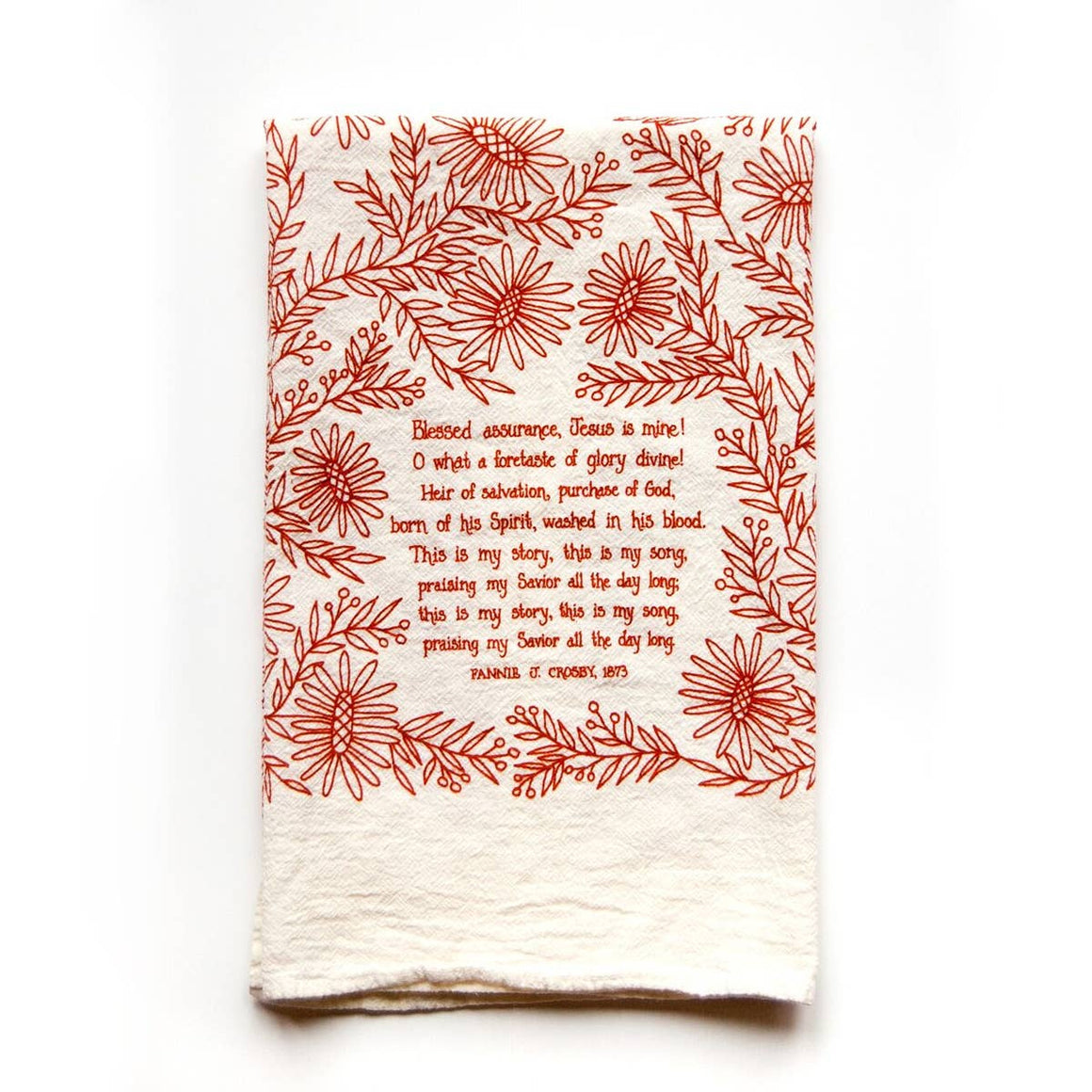 Blessed Assurance Tea Towel
