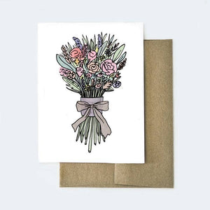 Greeting Card - Flower Bouquet