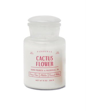 Cactus Flower Farmhouse Candle