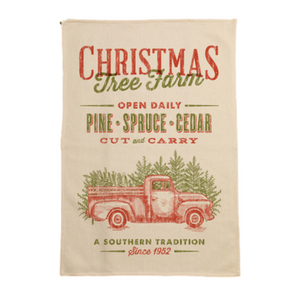 Christmas Tree Farm Kitchen Towel