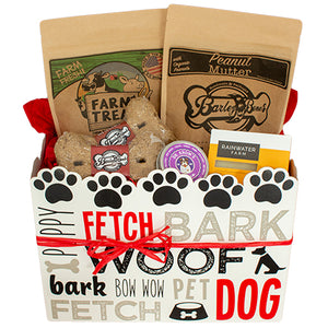 Dog Treat Gift Box