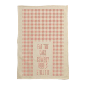 Eat the Cake Kitchen Towel