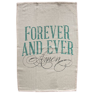 Forever and Ever Amen Towel