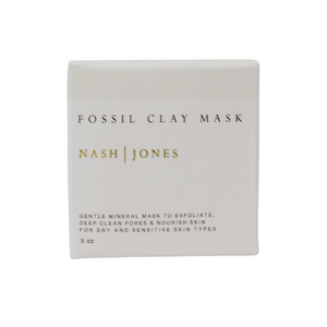 Nash & Jones Clay Masks (Fossil Clay)