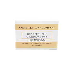 Grapefruit Charcoal Soap Bar