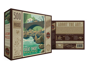 Great Smoky Mountains Chimney Tops Puzzle