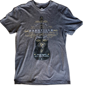 Spirit of Nashville Guitar T Shirt