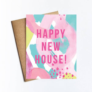 Greeting Card - Happy New House