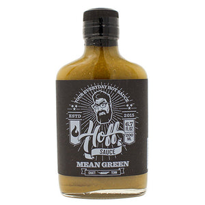 Hoff's Mean Green Hot Sauce