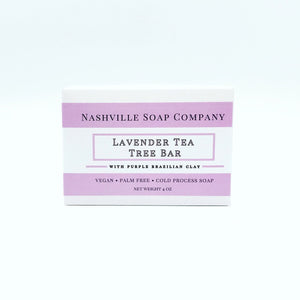 Nashville Soap Company Lavender Tea Tree Bar