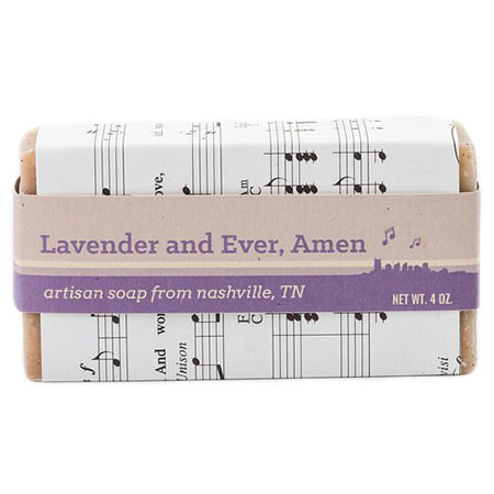 Lavender And Ever, Amen Soap Bar