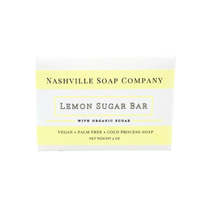 Lemon Sugar Soap Bar