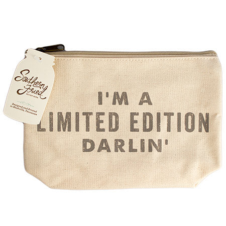 Limited Edition Zipper Pouch