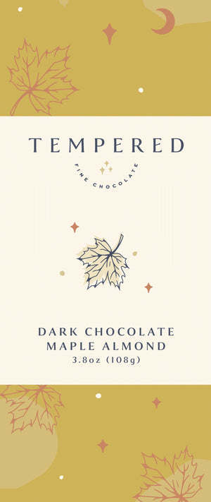 Dark Chocolate Maple Almond Bar