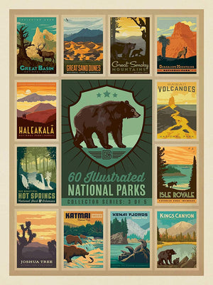 National Parks Bear Collector Series Puzzle
