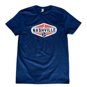 Navy Nashville T Shirt