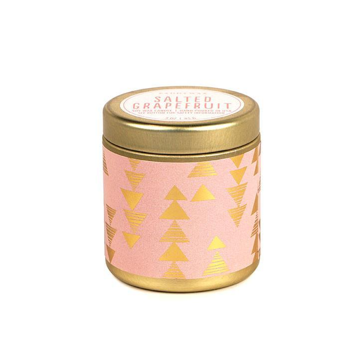 Salted Grapefruit Mini Paddywax Candle