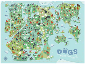 Dogs Around the World Puzzle