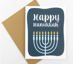 Greeting Card - Happy Hanukkah