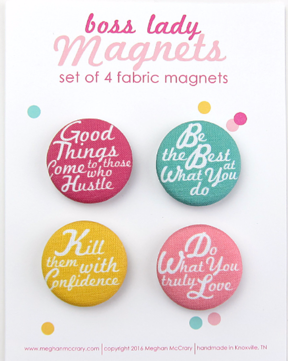 Boss Magnets- Set of 4