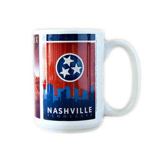 Spirit of Nashville Skyline Mug