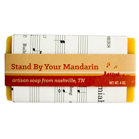 Stand By Your Mandarin Soap Bar