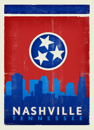 Spirit of Nashville Postcard - Single