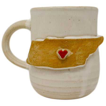 State of Tennessee Pottery Mug